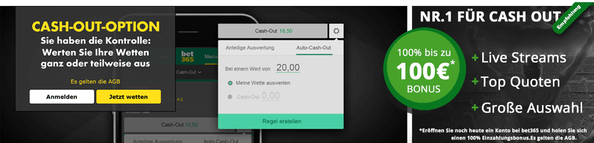bet365 App Cash Out Empfehlung