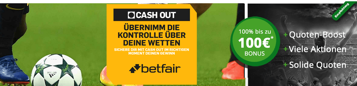Betfair cash out