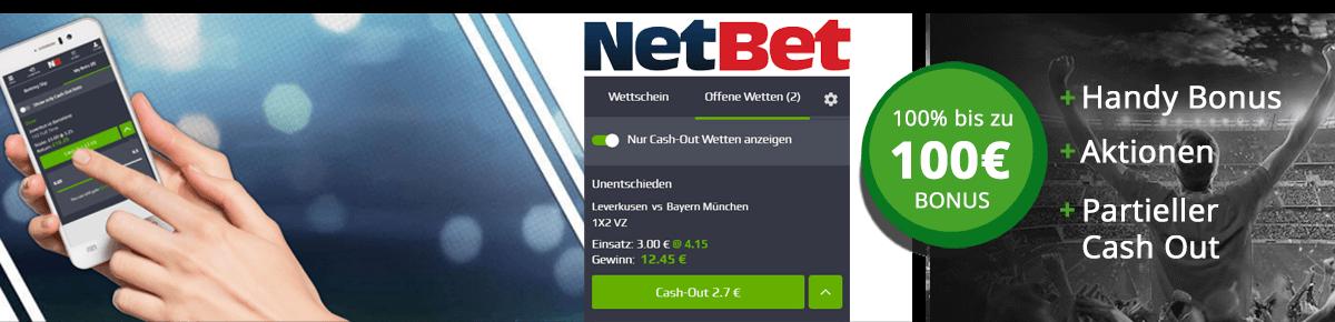 NetBet Cashout