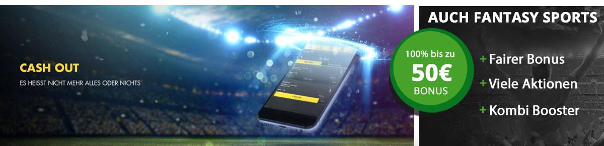 Jetzt Gewinne sichern mit der Cashout Funktion von MyBet